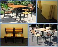 """Мебель для кафе,баров, дачи. Комплект  """"Классический"""""""