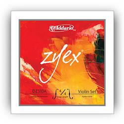 Струны для смычковых D`ADDARIO DZ310A 4/4M ZYEX 4/4M