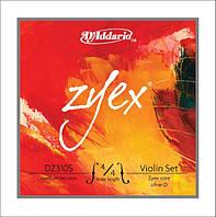 Струны для смычковых D`ADDARIO DZ310S 4/4M ZYEX 4/4M