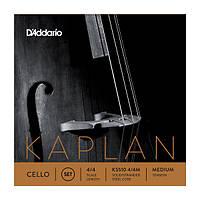 Струны для виолончели D`ADDARIO KS510 4/4M KAPLAN CELLO STRINGS 4/4 MEDIUM