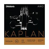 Струны для скрипки D`ADDARIO KA310 4/4M KAPLAN AMO VIOLIN STRINGS 4/4 MEDIUM