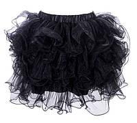 Юбка-пачка черного цвета Oks длина 35 см / 003N