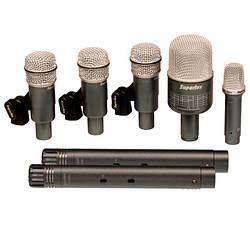 Микрофоны для барабанов набор SUPERLUX DRKB5C2MKII