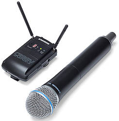 Радиомикрофон/система SAMSON SWC88VHQ8E UHF CONCERT 88 CAMERA (HANDHELD)