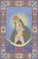 Схема для вышивки бисером «Остробрамская икона Божией Матери »