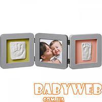 Рамочка Baby Art  Double Print Frame Grey