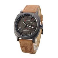 Мужские часы наручные Curren Chronometer GMT-8 Черный