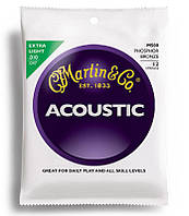 Струны для гитары MARTIN M500 Traditional Acoustic 92/8 Phosphor Bronze Extra Light 12-String (10-47)
