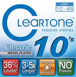 Струни з покриттям для електрогітари CLEARTONE 9410 ELECTRIC NICKEL-PLATED LIGHT 10-46