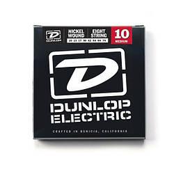Струни DUNLOP DEN1074 ELECTRIC MEDIUM 8-STRING 10