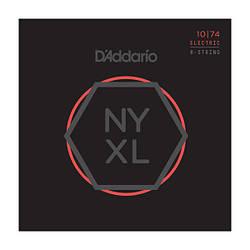 Струни d'addario NYXL1074 NYXL LIGHT TOP / HEAVY BOTTOM 8-STRING 10-74
