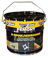 Мастика битумная для ремонта и приклеивания кровли 3кг AquaMast 1/144