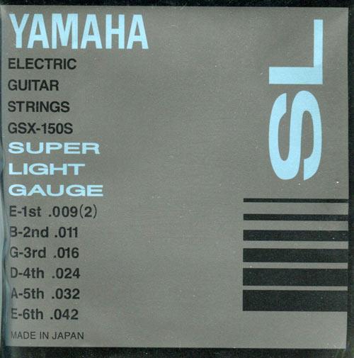 Струны YAMAHA GSX150S ELECTRIC SUPER LIGHT (09-42)