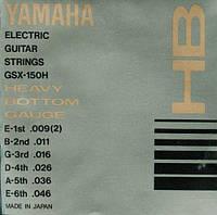 Струны YAMAHA GSX150H ELECTRIC HEAVY BOTTOM (09-46)