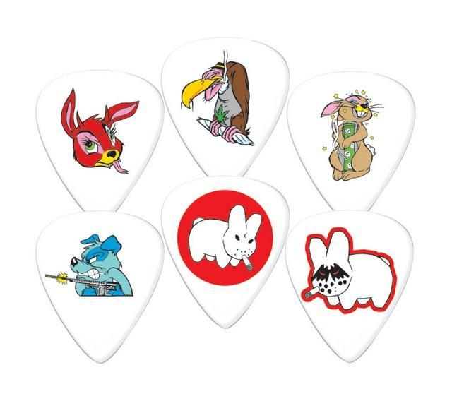 Медиаторы DUNLOP BL109P.60 FRANK KOZIK PLAYER'S PACK 0.60