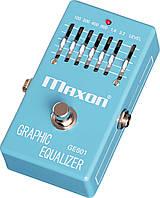 Гитарный эффект графический эквалайзер MAXON GE601 GRAPHIC EQUALIZER