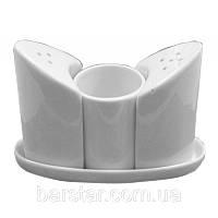 Набор на подставке соль/перец/подставка для зубочисток (Helfer, Хелфер) 21-04-131