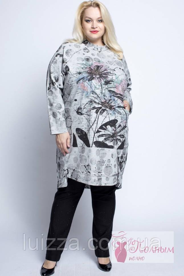 649613aba8c7e67 Турецкое платье - туника, DARKWIN (Турция) 54-62 рр , цена 1 550 грн ...