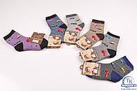 Носки для мальчика махровые с добавлением ангоры Корона от 1 до 6 лет C3531-3
