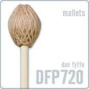 Палочки для перкуссии PROMARK DFP720 DAN FYFFE - BIRCH MEDIUM SOFT YARN