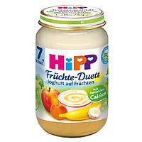 HiPP Фруктовый Дуэт: йогурт и фрукты 160 г, с 7-го мес.
