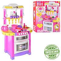 Кухня для детей Hello Kitty с посудой и продуктами