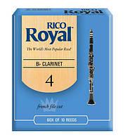 Трости для духовых RICO Rico Royal - Bb Clarinet #4.0