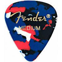 Набор медиаторов FENDER 351 CLASSIC CELLULOID 144 CONFETTI MEDIUM