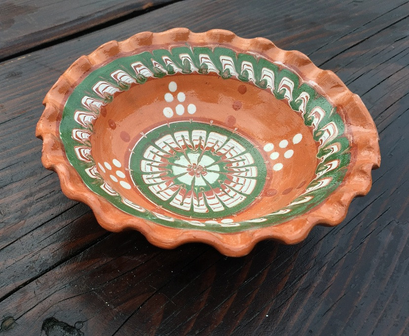 Салатниця глиняна