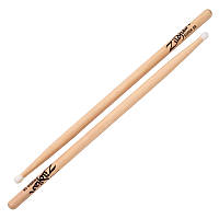 Барабанные палочки ZILDJIAN SUPER 5B NYLON NATURAL DRUMSTICKS