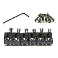 Набор сёдел для Strat/Tele GRAPH TECH PS-8001-00 STRING SAVER SADDLE STRAT & TELE STYLE (6 PCS)