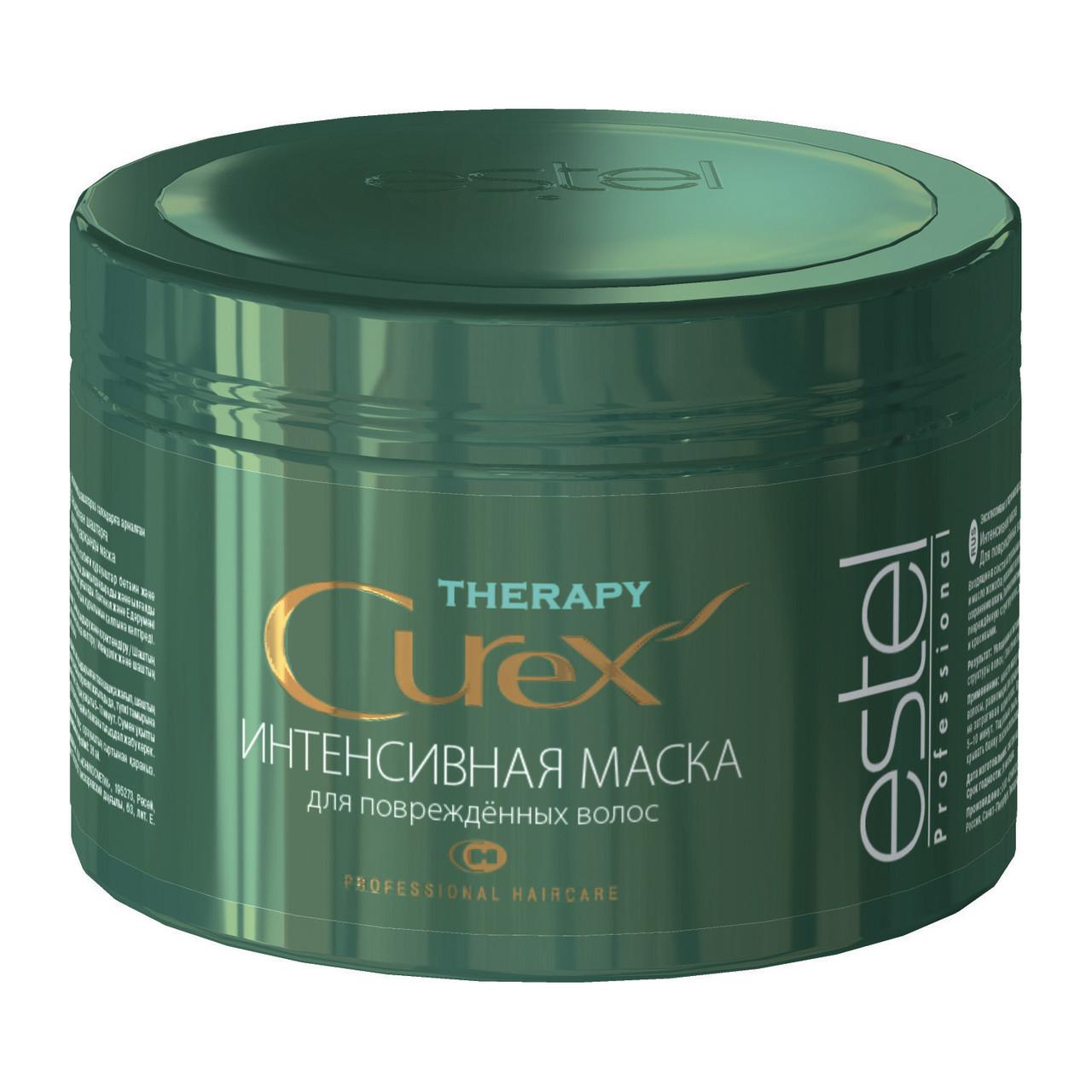 Интенсивная маска CUREX THERAPY для поврежденных волос