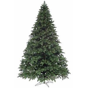 Литая елка , искусственная , 1.5 метра зеленая ель