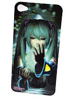 3 d наклейка iphone 4 hatsune miku
