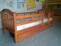 Кровать подростковая Максим с защитными перегородками, фото 2