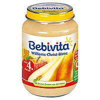 Bebivita  Früchte Williams-Christ-Birne - Пюре фруктовое Уильямс Христос груша 190 г,  с 4-го мес.