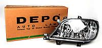 Фара MB Sprinter CDI 03- (с галогенкой) L (H7/H3/H7) Depo