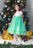 Новогоднее нарядное платье на девочку