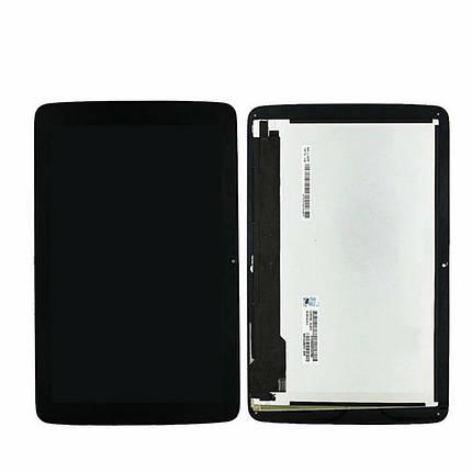 Дисплей (экран) для планшета LG V700 G Pad 10.1 с сенсором (тачскрином) черный, фото 2