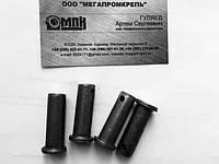 Палец - ось стальная DIN 1444, ISO 2341, ГОСТ 9650-80. ООО «МЕГАПРОМКРЕПЬ» принимает заказы на изготовление и поставляет под заказ пальцы (оси с цилиндрической головкой) по DIN 1444 типов А и В, по ГОСТ 9650-80 типов 5, 6, 7, 8.