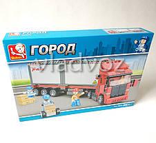 Игровой конструктор машинка грузовик трейлер Truck, фото 2