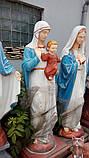 Скульптура Богородицы №4 высота 180 см, фото 5