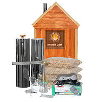Дымогенератор «Копти Сам» Предприниматель  для коптильни холодного и горячего копчения + Подарки!
