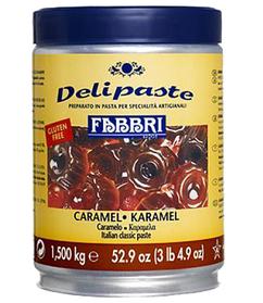 Fabbri Delipaste Caramel, Strawberry, Almond, Coconut, Mango, пасти Fabbri карамель, полуниця, кокос, манго
