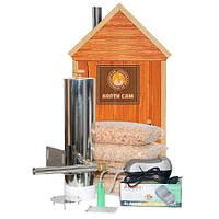 Дымогенератор «Копти Сам» Любитель для коптильни холодного и горячего копчения. Без сбора  конденсата., фото 1