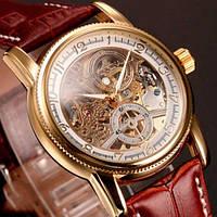 Мужские механические часы Orkina Star Gold с автоподзаводом