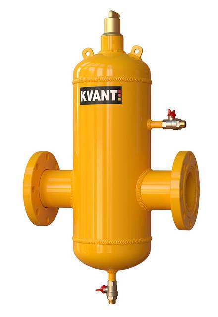 Вертикальный проходной сепаратор воздуха KVANT DisAir, фото 1