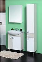Комплект мебели для ванной Домино бежевый