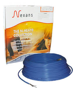 Теплый пол в стяжку под ламинат, кафель 1.2-1.5 м.кв. 200 Вт. Двухжильный кабель Nexans. Гарантия 20 лет.