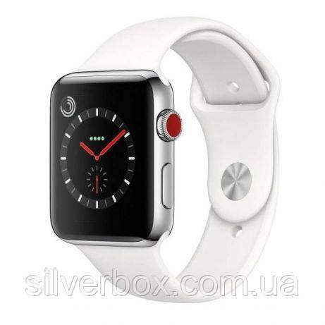 IWO5 SmartWatch матовый корпус- 1:1 AppleWatch серебристые